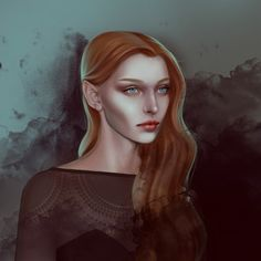 Feyre Archeron from A Court of Thorns and Roses by morgana0anagrom
