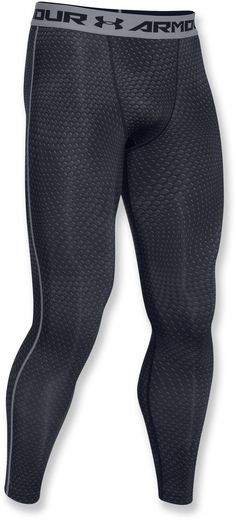 Under Armour Male Compression Print Leggings - Men's