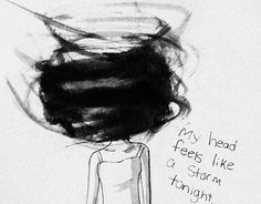 My head feels like a storm.....This is how it feels when your with a Narcissist and don't know it !