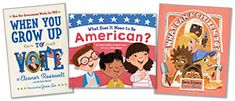 Not only are politicians writing children's books, but a new crop of books for young readers explores the virtues of responsible citizenship. Children's Books, New Books, Political Books, Citizenship, Politicians, No Response, Meant To Be, Baseball Cards, Writing