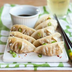 Freezer-Friendly Recipe:  Shiitake Mushroom & Tofu Potstickers  — Recipes from The Kitchn