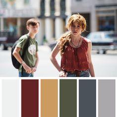 Movie Color Palette, Colour Pallete, Color Schemes, Seven Movie, Cinema Colours, Color In Film, Mood Board Interior, Cinematic Photography, Mood And Tone