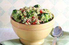 Broccoli and Quinoa Salad with Asian Vinaigrette