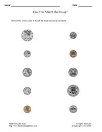 Counting Coins At The Fruit Stand  Counting Coins Worksheets And