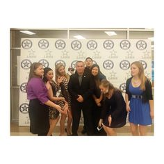 Most of the Lone Star High School Athletic Training Team