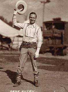 Gene Autry .. Tioga, TX
