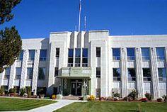 Washington County Courthouse (Idaho) Where Mom worked.  And where I got my first real job as a Deputy Assessor.