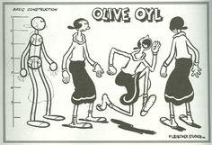 Max Fleischer's Olive Oyl