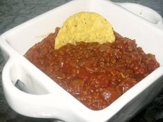 Texas Chili - Making this for dinner tonight. Vegetarian Chilli cook off winning Texas Chili recipe