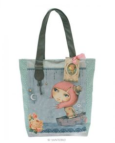 Mirabelle Glitter Shopper Bag - Adrift