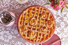 Baracklekváros crostata, az olasz lekváros pite Waffles, Breakfast, Food, Morning Coffee, Essen, Waffle, Meals, Yemek, Eten