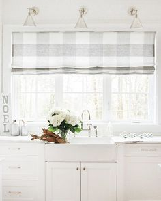 white kitchen for the holidays