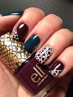 Young Wild and Polished: Dots Dots and...yep, More Dots!!