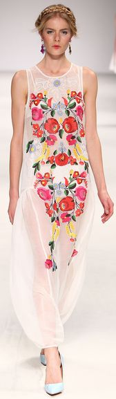 Embroidery -Alice McCall