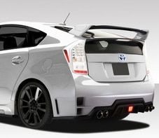Couture 2010 2015 Toyota Prius Vortex Rear Add Ons 2 Piece