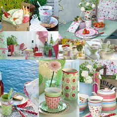 Summer Picnic Collage