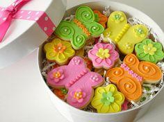 Biscoitos Decorados: receita rápida   ideias de decoração decorated cookies