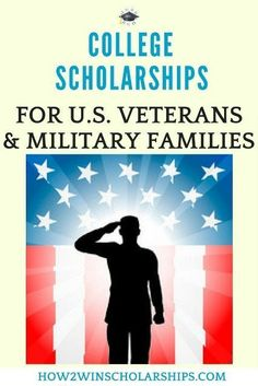 College Scholarships for U. Veterans and Military Families College Scholarships for U. Veterans and Military Families – Here is a great list of military scholarships for U. veterans and their families. Military Scholarships, How To Find Scholarships, Nursing School Scholarships, Nursing Schools, Financial Aid For College, College Planning, College Tips, College Organization, High School Students