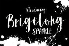 @newkoko2020 Sparkle Brush by Genesis Lab on @creativemarket#font #buy #discount #design #lettering