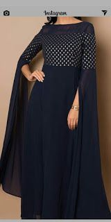 Party Wear Indian Dresses, Designer Party Wear Dresses, Indian Gowns Dresses, Kurti Designs Party Wear, Dress Indian Style, Indian Fashion Dresses, Indian Designer Outfits, Sleeves Designs For Dresses, Dress Neck Designs