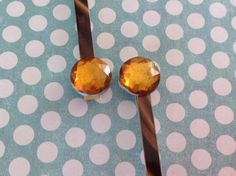 Two Handcrafted Gold Rhinestone Tortoise Shell Bobby Pins CrazyVintage Boutique Hair Accessories Birthday Gift Hair Pins Women Teens Pins by CrazyVintageBoutique on Etsy