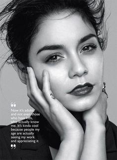 Vanessa Hudgens for Flare Magazine