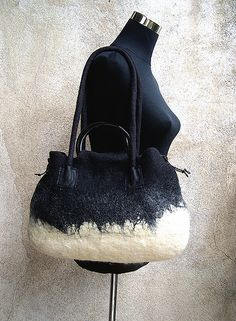 wool felted bag | Flickr - Photo Sharing ♡