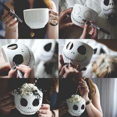 Diese süße Tasse werde ich mir auf jeden Fall zu #Halloween machen :-) #My Little DIY Box