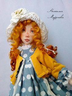 Фотография Clay Dolls, Felt Dolls, Matilda, Doll Maker, Fairy Dolls, Girl Doll Clothes, Handmade Art, Soft Fabrics, American Girl