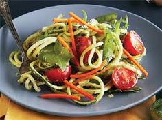 Great dish and easy to make with a Vegetable Spiralizer by Nonni's Choice.
