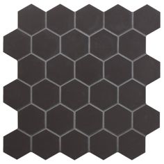 Black Hexagon Mosaic - Kitchens - Shop by suitability - Wall & Floor Tiles | Fired Earth