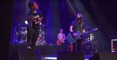 Watch Foo Fighters Cover AC/DC With Hives Singer in Sweden  http://www.rollingstone.com/music/news/watch-foo-fighters-cover-acdc-with-hives-singer-in-sweden-w503637