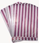 If you need a supply of paper bags for your shop or event we have a variety available, perfect for use as sweet bags and all coming with free UK delivery Candy Sweet, Sweet Bags, Candy Bags, Stripes, Purple, Paper, Inspiration, Biblical Inspiration, Cute Bags