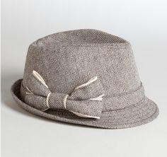World Market tweed Fedora