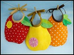 adorable bibs that are easy to make & turn out adorable!
