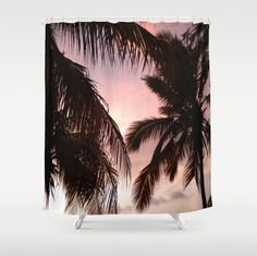 palm trees Throw Blanket by nataliebobatalie Palm Tree Sunset, Palm Trees, Tree Shower Curtains, Laptop Skin, Tapestry, Art Prints, Blanket, Home Decor, Palm Plants