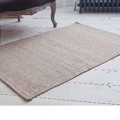 Woven Goat Hair Rug Runner: These rugs are produced on hand looms using undyed goat hair. The hand made production process of each piece means they do vary both in finish and also in the colour due to the natural state of the goat hair at the time when it is shorn. They are very hard wearing and lay very flat. Each item is hand woven. It is also available as a hearth size.