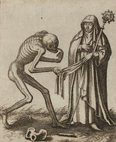 Matthäus Merian. Todten-Tantz, Basel's Dance of Death. 1649. Magic Transistor