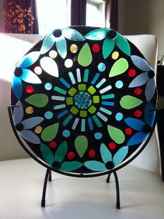 Colourful Fused Glass Suncatcher by SeaShellsGlass on Etsy, $200.00