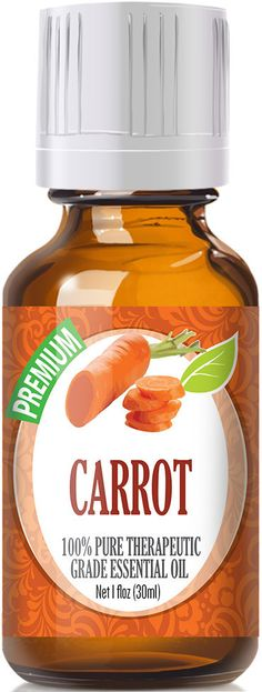 Carrot Essential Oil has a dry woody aroma with an earthy musk. Botanical Name: Daucus carota