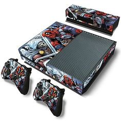 GoldenDeal Xbox One Console and 2 Controllers Skin Set  Super Hero  XboxOne Vinyl * Be sure to check out this awesome product.Note:It is affiliate link to Amazon. #XboxGames