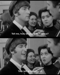 A Hard Day's Night, John