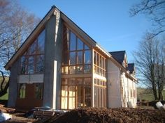 Modern Timber Frame Construction in Spain