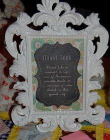 Beth Kruse Custom Creations: vintage baby shower