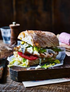 Our chicken Caesar burger recipe takes just 15 minutes to make and has all the elements of the classic Caesar salad sandwiched in a ciabatta roll - yum!