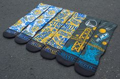 Warriors socks....They would go great with Curry ones or twos.
