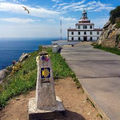 this is where my camino will end! Faro de Fisterra, km de Santiago Camino Walk, Camino Trail, The Camino, Great Places, Places To See, Beautiful Places, Places In Spain, Spain And Portugal, Madrid
