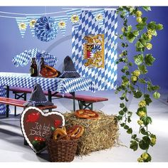 oktoberfest dekoration ideen m belideen. Black Bedroom Furniture Sets. Home Design Ideas