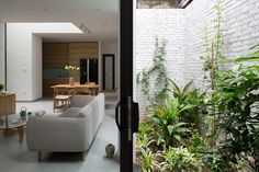 Completed in 2017 in Hanoi, Vietnam. Images by Hoang Le Photography. Thuy Khue house is located at a crowded residential area in Hanoi, which contains numerous long, small and narrow alleys. The living environment in. Casa Patio, Diy Home Decor On A Budget, Architecture Office, Architect House, Sustainable Design, Contemporary Interior, Home Interior Design, Outdoor Furniture Sets, House Design
