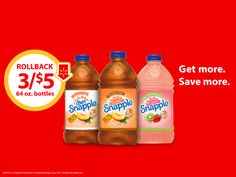 Stock Up on Snapple